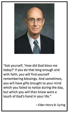Elder Henry B. Eyring Quote