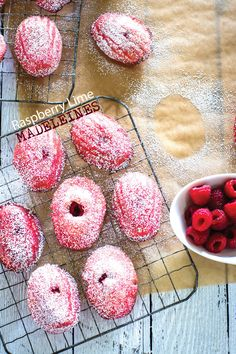 Raspberry Lime Madeleines by Sam Henderson of Today's Nest