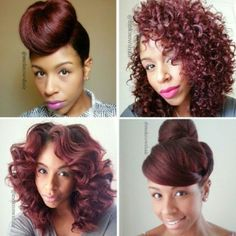 @Mo Knows Hair has amazing style! Look at that hair! <3 #StyleInspiration