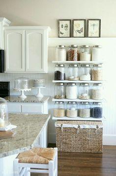 Creando espacios en cocina!