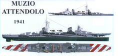 RMN Muzio Attendolo - Condottieri class Light Cruiser