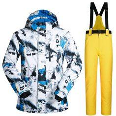 SOUTH PLAY Waterproof Ski Snowboard Jumper Blazer Coat Jacket Pants Suits SET 09