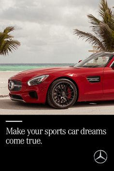 Look forward to every drive in the sports car you've always imagined. With sleek lines, unrivaled luxury and the latest in automotive technology - this is the car you belong in. Find your sports car at mbusa.com