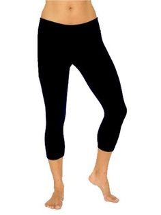 Beyond Yoga Women's Side Gathered Capri Legging,  Medium),
