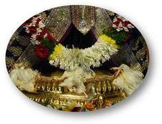 Yesterday's Darshan Holy Feet of Lord Balaji @ISKCONNVCC, Pune