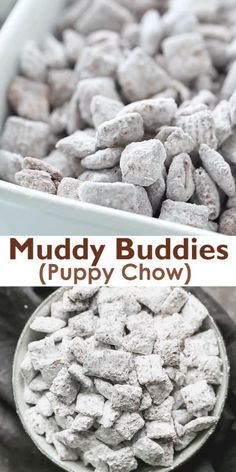 Puppy Chow Recipes, Snack Mix Recipes, Yummy Snacks, Delicious Desserts, Cooking Recipes, Yummy Food, Puppy Chow Recipe Without Peanut Butter, Deserts, Eating Clean