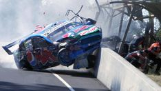 Bathurst Qualifying abandoned after Chaz Mostert breaks arm leg in horror crash Holden Muscle Cars, Aussie Muscle Cars, Australian V8 Supercars, Australian Cars, Emergency Response Team, The Great Race, Old Race Cars, Car Crash, Rally Car