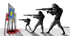 Du monde entier pour « Charlie Hebdo » | Mediapart
