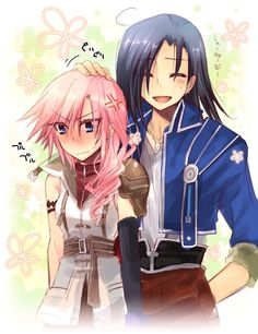 Lightning & Laguna I don't ship them but this is cute.