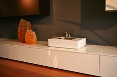 Exclusive Portable Fireplace Bio-fireplaces by Atelier maisonFire