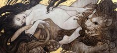 """Rebecca Guay: """"Time and Chance, 28x40 , Oil on Canvas"""" // http://www.rebeccaguay.com/"""