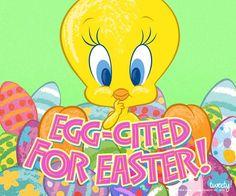 Happy Easter!             Let's get  EGG-CITED!