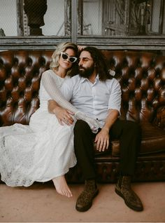 60s Rock n roll Inspired budget Elopement