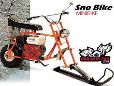 Snow Bike Minibike - OldMiniBikes.com Forum