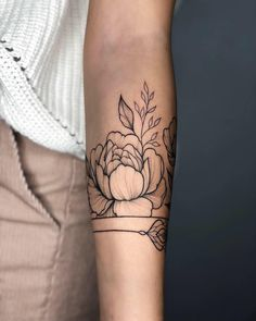This image can contain: od… FLOWER TATTOOS - flower tattoos - This image may contain: one or more people and part of the body close-up flower - Hand Tattoos, Forearm Tattoos, Love Tattoos, Sexy Tattoos, Arm Band Tattoo, Body Art Tattoos, Small Tattoos, Tasteful Tattoos, Girl Arm Tattoos
