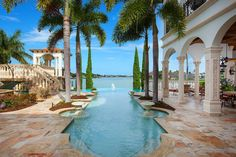 View this luxury home located at 1440 Caxambas Ct Marco Island, Florida, États-Unis. Sotheby's International Realty gives you detailed information on real estate listings in Marco Island, Florida, États-Unis. Swimming Pool House, Swimming Pools, Marco Island Florida, Dream Mansion, Dream Houses, Mansions For Sale, Dream Pools, Condos For Sale, Favim