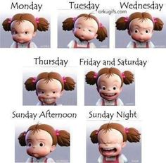 The emotional week. My sentiments exactly. lol