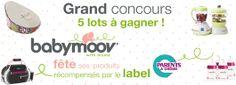 Grand jeu concours Babymoov fête ses produits récompensés par le label Parents : 5 superbes lots à gagner !