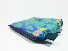 Turquoise cosmetic bag toiletry bag wash bag eco by ABAGUpcycling Wash Bags, Toiletry Bag, Cosmetic Bag, My Etsy Shop, Turquoise, Cosmetics, Creative, Handmade, Stuff To Buy