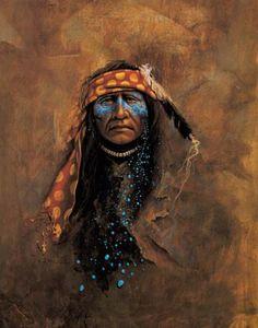 American artist Mark Rohrig - Night Traveler - a mystical realist!
