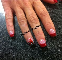 Alabama houndstooth nails!