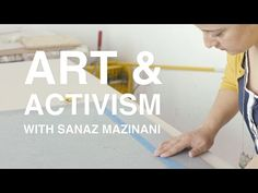 Art + Activism with Sanaz Mazinani | KQED Art School Sanaz Mazinani is an artist with a background in political activism who uses art to inspire dialogue about perceptions of cultural identity. In the latest episode of Art School, she describes her current art practice and the intentions behind her recent installation at the Asian Art Museum in San Francisco. Using online media focusing on world news and pop culture as her source material, she creates symmetrical photo collages.....