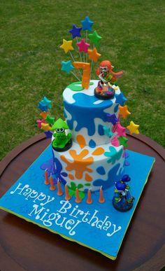 Splatoons Cake