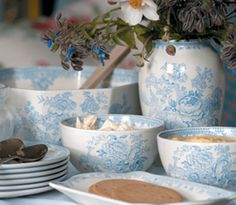 Burleigh Pottery makers of Blue and White China and Fine English Earthenware since 1851