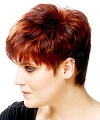Makes me want to cut my hair! Tapered Hair, Next Fashion, Cut My Hair, My Style, Hair Styles, Beauty, Color, Awesome, Ideas