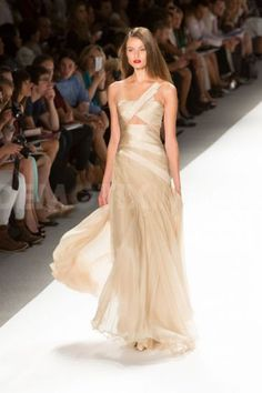 Carlos Miele 2013; fill in the triangle, get rid of the almost-strap, sweetheart the neckline, and it'd be perfect. I need to meet a seamstress!