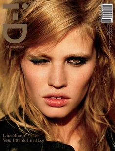Lara Stone is a Supermodel Who's Rising to the Top #pets