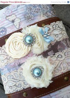 SALE/ wedding garter / bridal garter/ lace garter / toss garter /baby blue / Something BLue wedding garter / vintage inspired lace gart on Etsy, $19.99