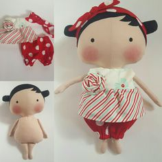 Love these new Tilda Sweetheart dolls and clothes!