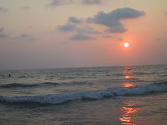 Sunset, White Sands Beach, Ko Chang, Thailand