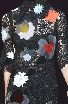 PRINTS, PATTERNS, TRIMMINGS AND SURFACE EFFECTS FROM MILAN FASHION WEEK (A/W 14/15 WOMENSWEAR) / 6 From Milan womenswear catwalks, beautiful details and inspirations. Dolce & Gabbana