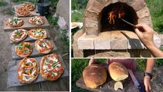 build your own cob pizza oven for $20