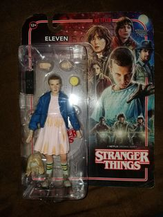 "McFarlane Toys Stranger Things Eleven 7"" Action Figure #McFarlaneToys"