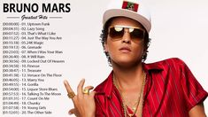 Bruno mars Greatest Hits - The Best Of Bruno mars Playlist 2018 Bruno mars Greatest Hits - The Best Of Bruno mars Playlist 2018 Bruno mars Greatest Hits - Th. Bruno Mars Album, Bruno Mars Songs, Bruno Mars Greatest Hits, James Fauntleroy, Locked Out Of Heaven, Versace On The Floor, Uptown Funk, Mark Ronson, Song Artists