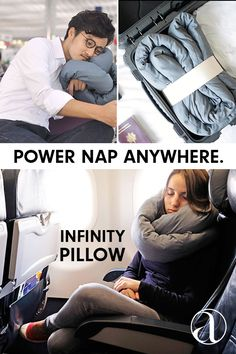 As featured in the Washington Post's 2015 Travel Guide, the Infinity Pillow is for nappers, dreamers and travelers alike.  It's the only travel pillow that you can also use at home, work and everywhere in between. Fashioned after the Möbius strip, it can be twisted and used in endless resting options. Use as a desk pillow, neck cushion, back support, noise-canceling pillow and so much more.