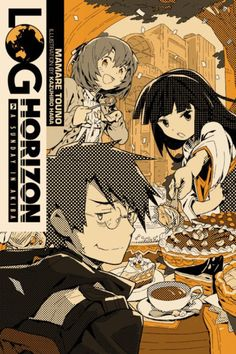Log Horizon, Vol. 5 (Light Novel): A Sunday in Akiba Manga Covers, Comic Covers, Used Books, My Books, Japanese Novels, Best Book Covers, Science Fiction Books, Kaichou Wa Maid Sama, Manga Pictures