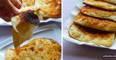 Jednoduchá indická máslová placka Paratha