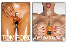 Beauty Anonymous: Provocative Ad - Tom Ford For Men