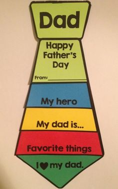 Father's Day craft idea for kids : Father's Day flip book: This fun flip book is perfect for a Father's Day gift. It's hands-on and ready to go! #fathersdayideas