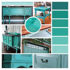 Patina Green is a cool, bright, and refreshing color; a perfect contrast to these hot, summer days. Revitalize your home accessories with this stylish Milk Paint color by General Finishes! For more style inspiration or to check out more projects featuring Patina Green click on this image!