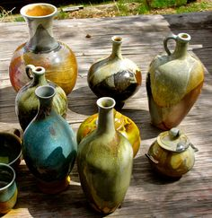 Wood Fired Pottery - Paul Herman | Great Basin Pottery