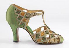 vintage shoe-Delman, Inc., American