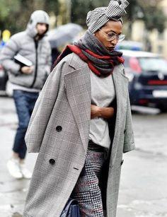 #мода #тенденции #уличныйстиль #streetfashion #streetstyle #ss2018 #модныедетали #клетка