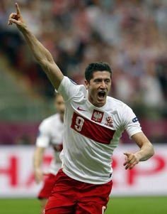 Robert Lewandowski Poland National