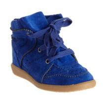 $665 Isabel Marant Bobby  blue, suede, different - are you cool enough to rock these with your wedding dress??