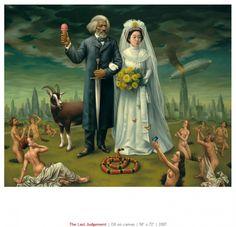Alex Gross Paintings.. love them!
